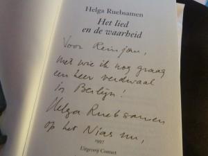 Wat NRC Handelsblad niet haalde: met Helga Ruebsamen verdwaald in Berlijn...