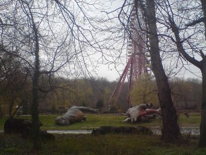 Berlijn, gevallen mastodonten