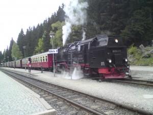 De Brockenbahn te Schierke