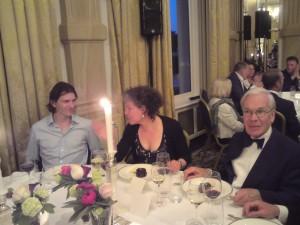 Libris Prijs winnaar Dimitri Verhulst en zijn uitgever Mitzi van der Pluijm