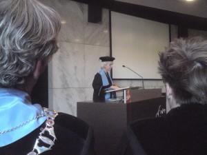 De professor spreekt