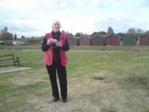 Hanna Mulder in Engeland, 2011