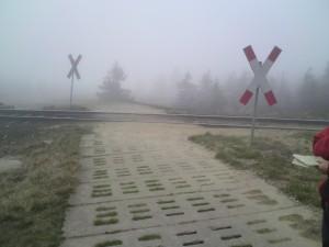 Op de berg Brocken: overweg
