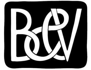 Het logo van Babel & Voss, ontworpen door Piet Parra