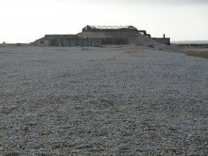 Landschap van Sebald: Orfordness in Suffolk