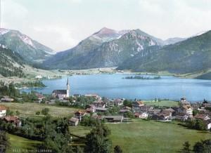 Schliersee in Beieren omstreeks 1900