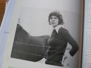 Doeschka Meijsing ten tijde van Robinson in 'De Revisor' (foto Reinjan Mulder)