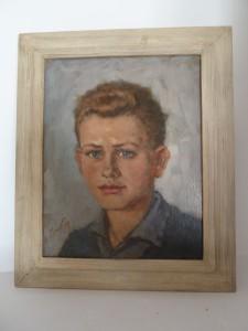 Johan Ponsioen: Portret van Reinjan Mulder, Tiel 1963