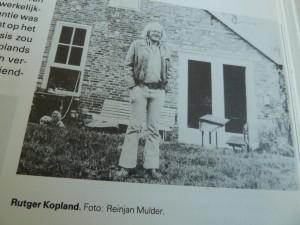Reinjan Mulder: Rutger Kopland. Uit: 't Is vol van schatten hier. De Bezige Bij. 1986