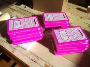 De eerste boeken van Till Roennberg's 'Het innerlijk uurwerk' komen binnen bij uitgeverij Babel & Voss