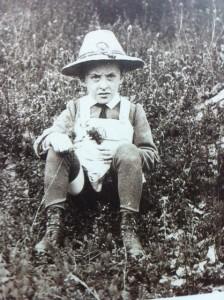 Ludwig Wittgenstein als kind