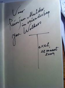 Jan Wolkers: laatste groet van Texel