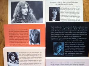 Zes boeken van Patricia de Martelaere