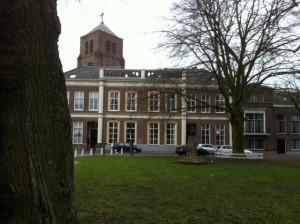 Het vroegere Gymnasium in Tiel