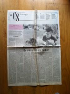 Reinjan Mulder's recensie van Van der Heijden's 'Advocaat van de Hanen' in CS Literair