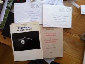 Boeken en brieven van een blinde fotograaf