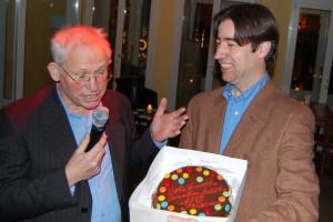 Reinjan Mulder en Job Lisman (r.)    foto Jan Zandbergen