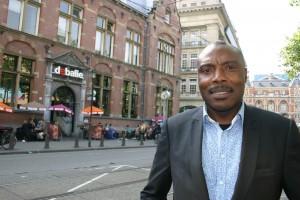 Urwin Vyent: trots op de naam Bijlmer (foto Sanne Claessens)