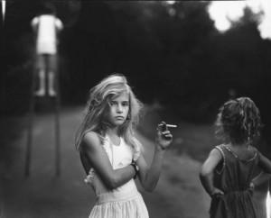 Sally Man, Candy cigarette