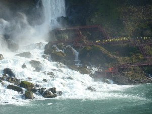 Landingspoging op New Foundland - naar de Niagara Falls