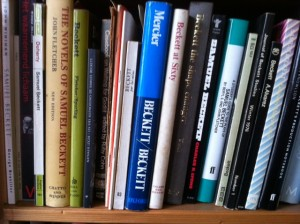 Ik las alles wat ik over Samuel Beckett kon vinden