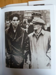 Ludwig Wittgenstein (r.) met zijn vriend Ben Richards in Londen