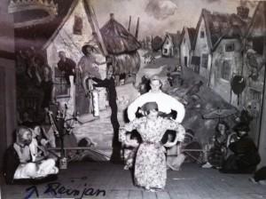 Het reuzeschilderij van het Laageinde in Geldermalsen, ca. 1958